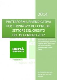 Piattaforma 2014 Rinnovo CCNL Credito